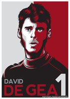 David de Gea Vector Art by NazariaNz