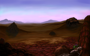 Dunes of Arashia by xensoldier