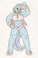 The Great and Muscular Trixie by Jose-Ramiro