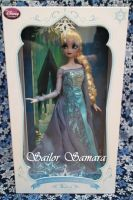 Disney Store Frozen LE Doll Elsa by SailorSamara