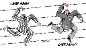 Holocaust Remembrance Day by Latuff2