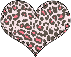 Corazon PNG Panter Pink by MFSyRCM