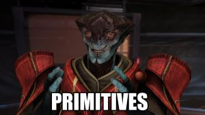 Mass Effect 3 Javik ''Acient Primitives'' by QuortaZ