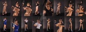 Ibuki 1/4 scale mixed media *censored* by chiseltown