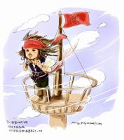 Captain-wind and tide by amoykid