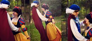 Snow white and Prince Florian Dancing by LeydaCosplay
