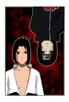 Two Uchiha Brothers by F3D3RICO15