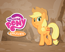 FiM Applejack Wallpaper by E-122-Psi