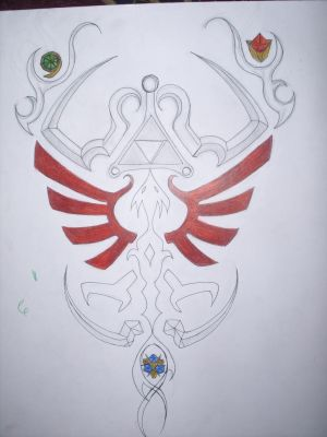 Zelda Tattoo Draft 1 This is the