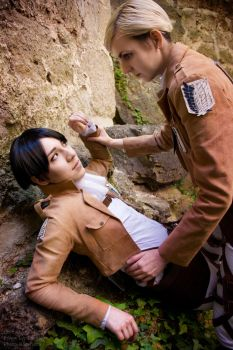 Eruri ~ Submit to the Commander~ by endless--rain