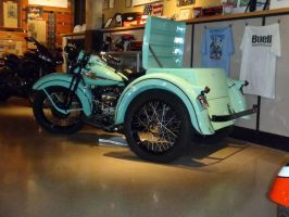 1938 Harley Davidson Servi Car left rear by Caveman1a