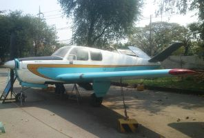 Beechcraft Bonanza by sudro
