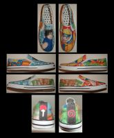 Naruto Shoes by Junket