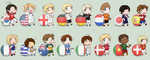 APH - 2010 World Cup Chibis by ConstantSoliloquy