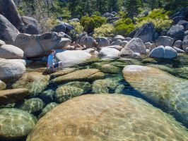 East Shore Lake Tahoe by MartinGollery
