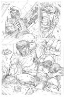 Wolverine vs Hulk page 2 by RudyVasquez