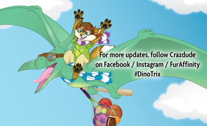 Dino Trix Promotion post by Crazdude