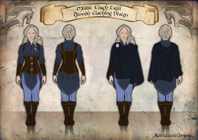 Middle Earth Trail: Hannah Clothing Design by SweetLittleVampire