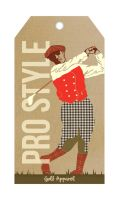 Pro Style Golf Apparel Hangtag by DeathlyTriforce