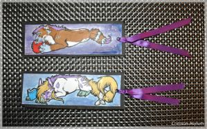 Sonna And Neffy Bookmarks by Crimson-Asylum