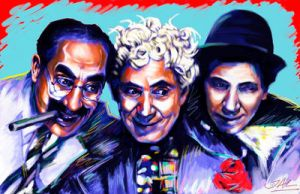 The Marx Brothers by JALpix