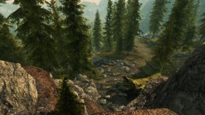 A shortcut to Whiterun by lupusmagus