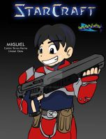 StarCraft Miguel by XHEATX
