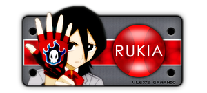 Rukia hight tech sign by vlex19