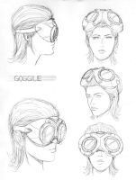 goggle design by randychen