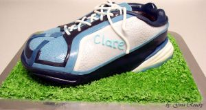 Trainer Cake by ginas-cakes