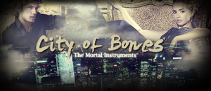 City of Bones - Jace and Clary by daubiss