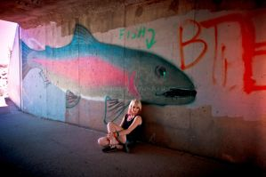 Trout Tunnel 4 by MindlessKitteh