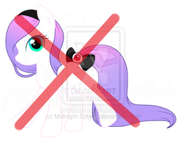 Pastel Goth pony (Adoptable) CLOSED by Midnight-Estelle