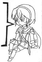 FEA-Marth Chibi lines by Nintendraw
