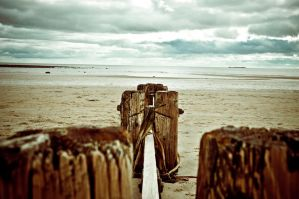 Alnmouth Beach by scribbleXcore