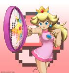 Princess Peach is Ready by J8d