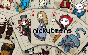 Alice in Wonderland Cards by NickyToons