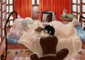 Bleach - Bed Time Stories by pika