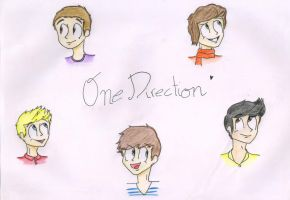 One Direction by 12JoJu