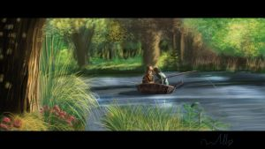 One hour Speedpaint Lord of the rings by LorDeimos