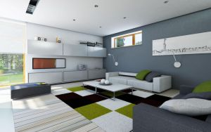house project SAMAR interior 2 by Antioksidantas