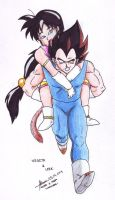Request: Vegeta and Leek by hirokada