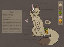 Kium feral reference sheet by Kium
