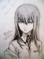 Makise Kurisu by lessa-ok