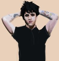 billie painting completed by GreenDay-Toons