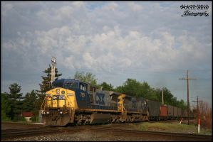 CSX and painters clouds by DragonWolfACe