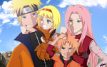 Uzumaki Family by edmarccool