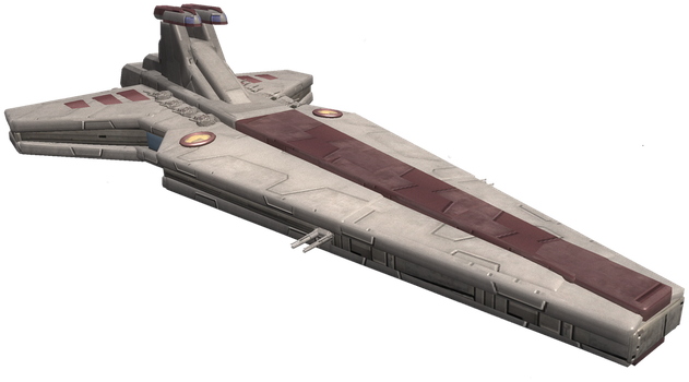 Spore: Venator-class Star Destroyer by Cyrannian