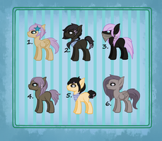 [Mixed] Pony Crack Shipping Adoptable: Open LP by Tams-secret-twin