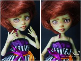 Mary Pumpkin Custom Doll 1 by kamarza